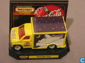 Modelauto's  - Matchbox - Ford Box Van 'Coca-Cola'