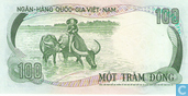Banknotes - Ngan Hang Quo ´c Gia Viët Nam - South Vietnam 100 Dong