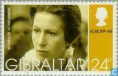 Postzegels - Gibraltar - Europa – Beroemde vrouwen