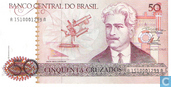 Banknotes - Banco Central do Brasil - Brazil 50 Cruzados