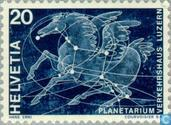Timbres-poste - Suisse [CHE] - planétarium d'ouverture