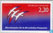Postage Stamps - France [FRA] - French Revolution