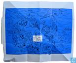 Ansichtkaarten - Kuifje - Pop-Up kaart Tibet
