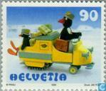 Postage Stamps - Switzerland [CHE] - Cartoon Figure ' Pingu '