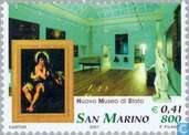 Postage Stamps - San Marino - State Museum