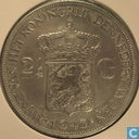 Netherlands 2½ gulden 1943 serving Dutch East Indies