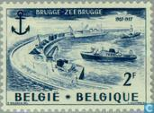 Postage Stamps - Belgium [BEL] - Maritime Installations Bruges-Zeebrugge