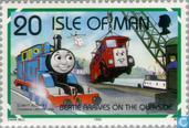 Postage Stamps - Man - Thomas Locomotive