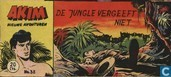 Comic Books - Akim - De jungle vergeeft niet