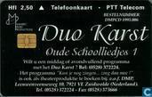 Duo Karst, oude schoolliedjes