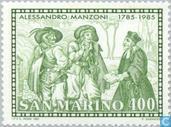 Postzegels - San Marino - Manzoni, Alessandro