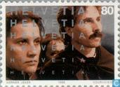 Timbres-poste - Suisse [CHE] - 100 ans de cinéma