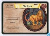 Trading cards - Harry Potter 5) Chamber of Secrets - Manticore