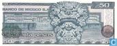 Banknoten  - El Banco de Mexico S.A - Mexiko 50 Pesos