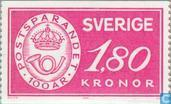 Postage Stamps - Sweden [SWE] - 100 years Post Office Savings Bank
