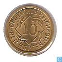 Coins - Germany - German Empire 10 reichspfennig 1936 (A)