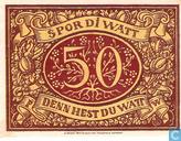 Billets de banque - Schneverdingen - Sparkasse - Pfennig Schneverdingen 50