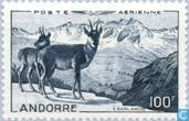 Postage Stamps - Andorra - French - Landscapes