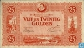 Banknotes - Monarchy of the Netherlands - 25 guilder Netherlands 1921