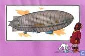 "Strips - Kuifjesbon producten - Chromo's ""Luchtschepen"" 51"