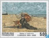 Briefmarken - Frankreich [FRA] - Gemälde Eugène Boudin