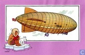 "Strips - Kuifjesbon producten - Chromo's ""Luchtschepen"" 52"