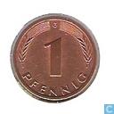 Coins - Germany - Germany 1 pfennig 1982 (G)