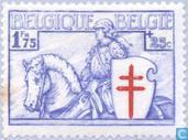 Briefmarken - Belgien [BEL] - Ritter