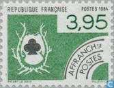 Timbres-poste - France [FRA] - Trèfle