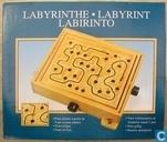 Spellen - Labyrinth (hout) - Labyrinthe Labyrint Labyrinto