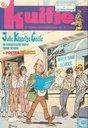 Strips - Julie, Klaartje, Cécile - al schuifelend weer naar school