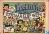 Comic Books - Heintje jeugdkrant (tijdschrift) - Heintje stripkrant 1