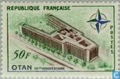 Postage Stamps - France [FRA] - 10 years NATO