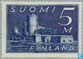 Postage Stamps - Finland - 500 blue