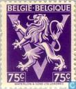 """Timbres-poste - Belgique [BEL] - Lion héraldique sur V, """"BELGIË BELGIQUE"""""""