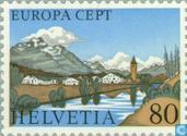 Postage Stamps - Switzerland [CHE] - Europe – Landscapes