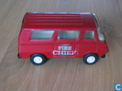 Modelauto's  - Tonka - Tiny Tonka Red fire chief bus