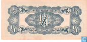 Banknotes - The Japanese Government - Burma ¼ Rupee