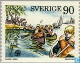 Postage Stamps - Sweden [SWE] - Scouting