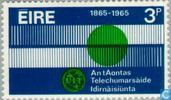 Postage Stamps - Ireland - 100 years of ITU
