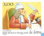Postage Stamps - France [FRA] - History of the Letter