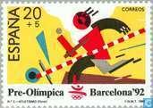 Postzegels - Spanje [ESP] - Olympische Spelen
