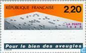 Postage Stamps - France [FRA] - Help for the blind