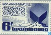 Postage Stamps - Luxembourg - Luxembourg Grand Lodge 175 years