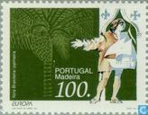 Postzegels - Madeira - Europa – Grote ontdekkingen