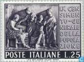 Postage Stamps - Italy [ITA] - two commemorations