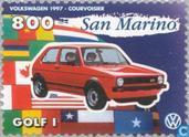 Postzegels - San Marino - Auto's