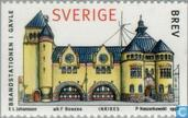Postage Stamps - Sweden [SWE] - 1998 City homes