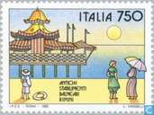Postage Stamps - Italy [ITA] - Historic seaside resorts