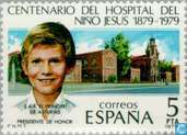 Postage Stamps - Spain [ESP] - Jesus Hospital